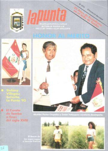 Anuario Periodístico y cultural de Punta de Bombón y el valle de Tambo Islay - Arequipa 25
