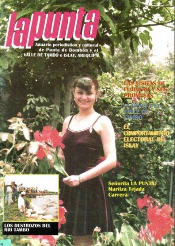 Anuario Periodístico y cultural de Punta de Bombón y el valle de Tambo Islay - Arequipa 29