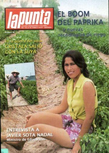 Anuario Periodístico y cultural de Punta de Bombón y el valle de Tambo Islay - Arequipa 36