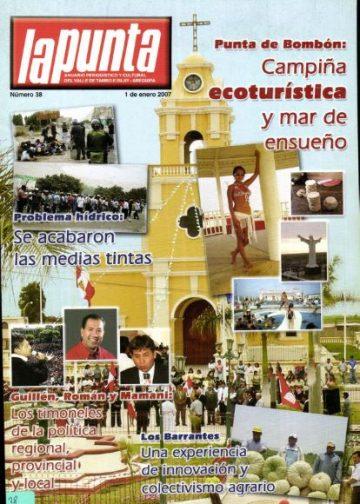 Anuario Periodístico y cultural de Punta de Bombón y el valle de Tambo Islay - Arequipa 38