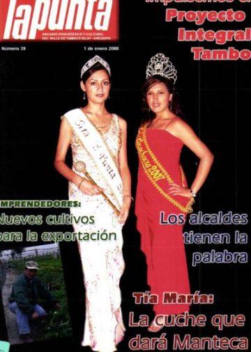 Anuario Periodístico y cultural de Punta de Bombon y el valle de Tambo Islay - Arequipa 39