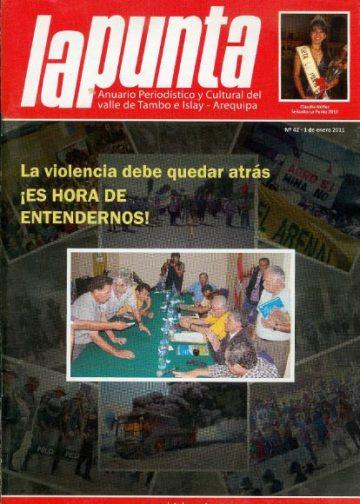 Anuario Periodístico y cultural de Punta de Bombon y el valle de Tambo Islay - Arequipa 42
