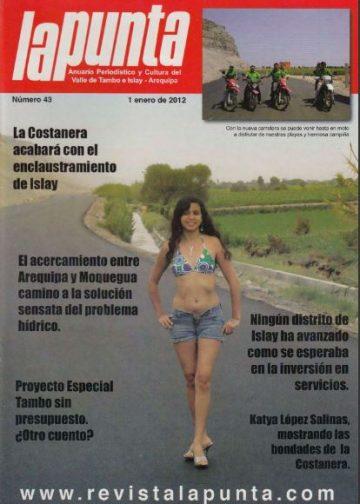 Anuario Periodístico y cultural de Punta de Bombon y el valle de Tambo Islay – Arequipa 43