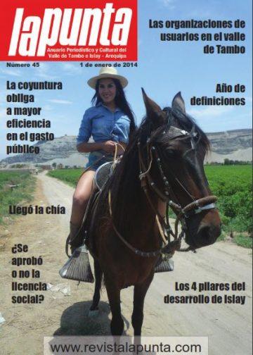 Anuario Periodístico y cultural de Punta de Bombon y el valle de Tambo Islay – Arequipa 45