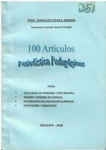 100 Artículos Periodístico Pedagógicos