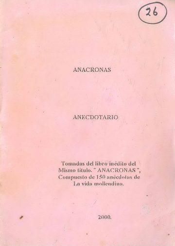 Anacronas Anecdotario
