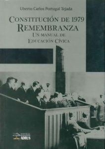 Construcción de 1979 Remembranza Un manual de Educación Cívica