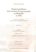 El grave problema de la escasez de agua potable en Mollendo en 1925