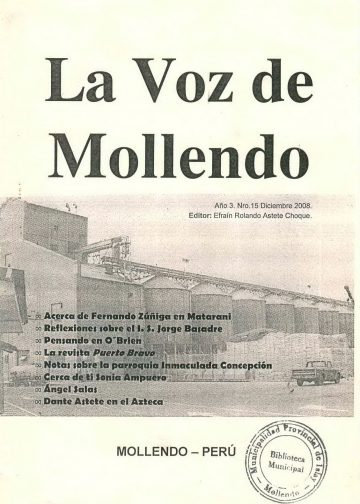 La Voz de Mollendo N° 15 2008