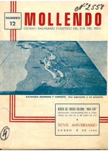 Mollendo Ciudad Balneario Turístico del sur del Perú 1968 N°12