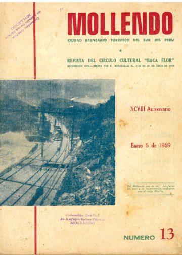 Mollendo ciudad balneario turístico del sur del Perú 06-01-1969