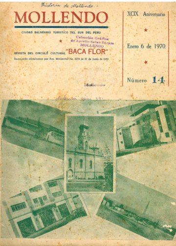 Mollendo ciudad balneario turístico del sur del Perú 06-01-1970